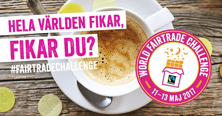 Fairtrade-challenge 11-13 maj